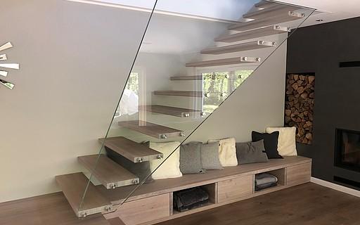 Escaliers modernes - Siller Escaliers